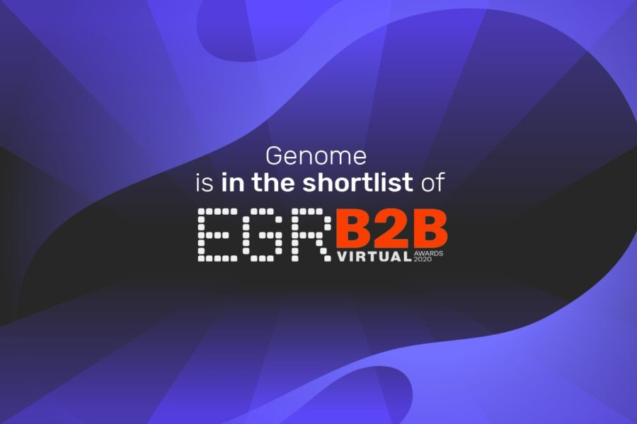 Genome made it to the EGR B2B Awards shortlist in Innovation in payments solution category