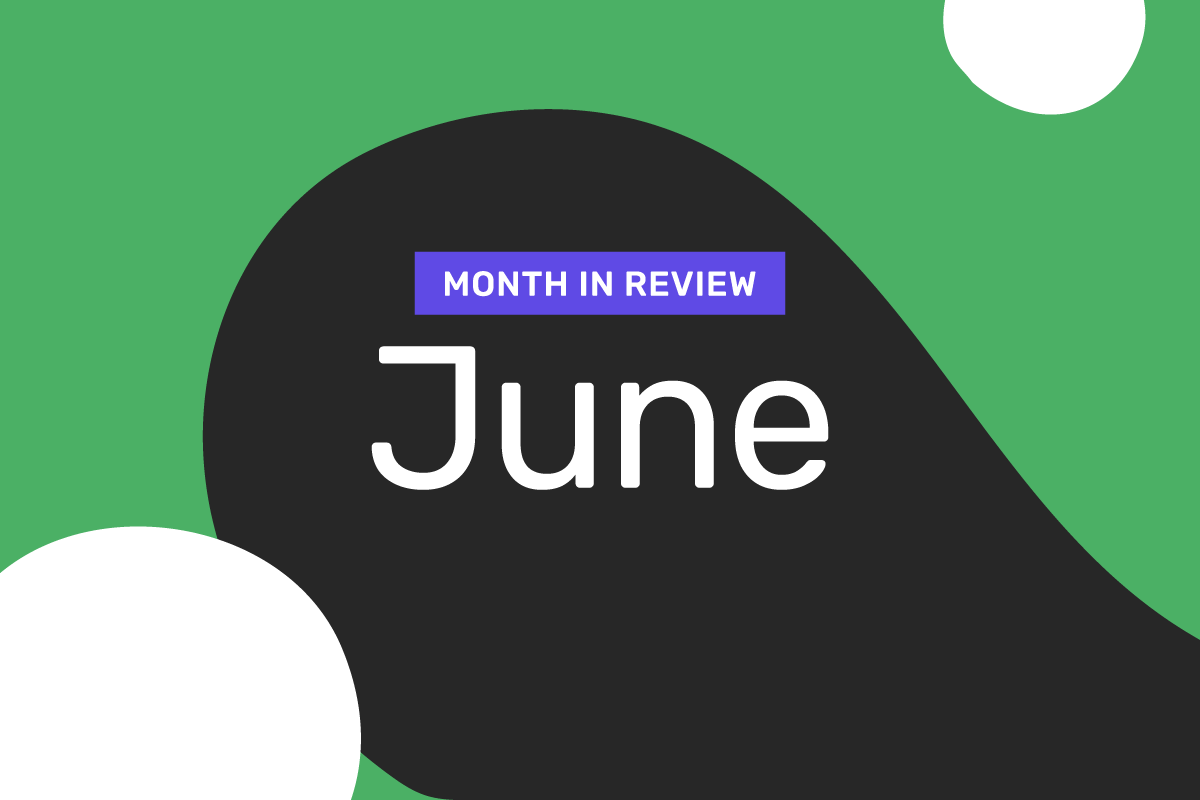 Genome's month in review: June