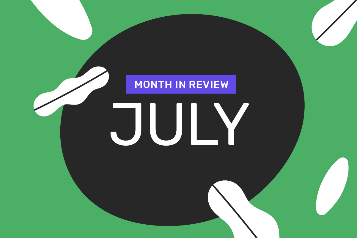 Genome's month in review: July