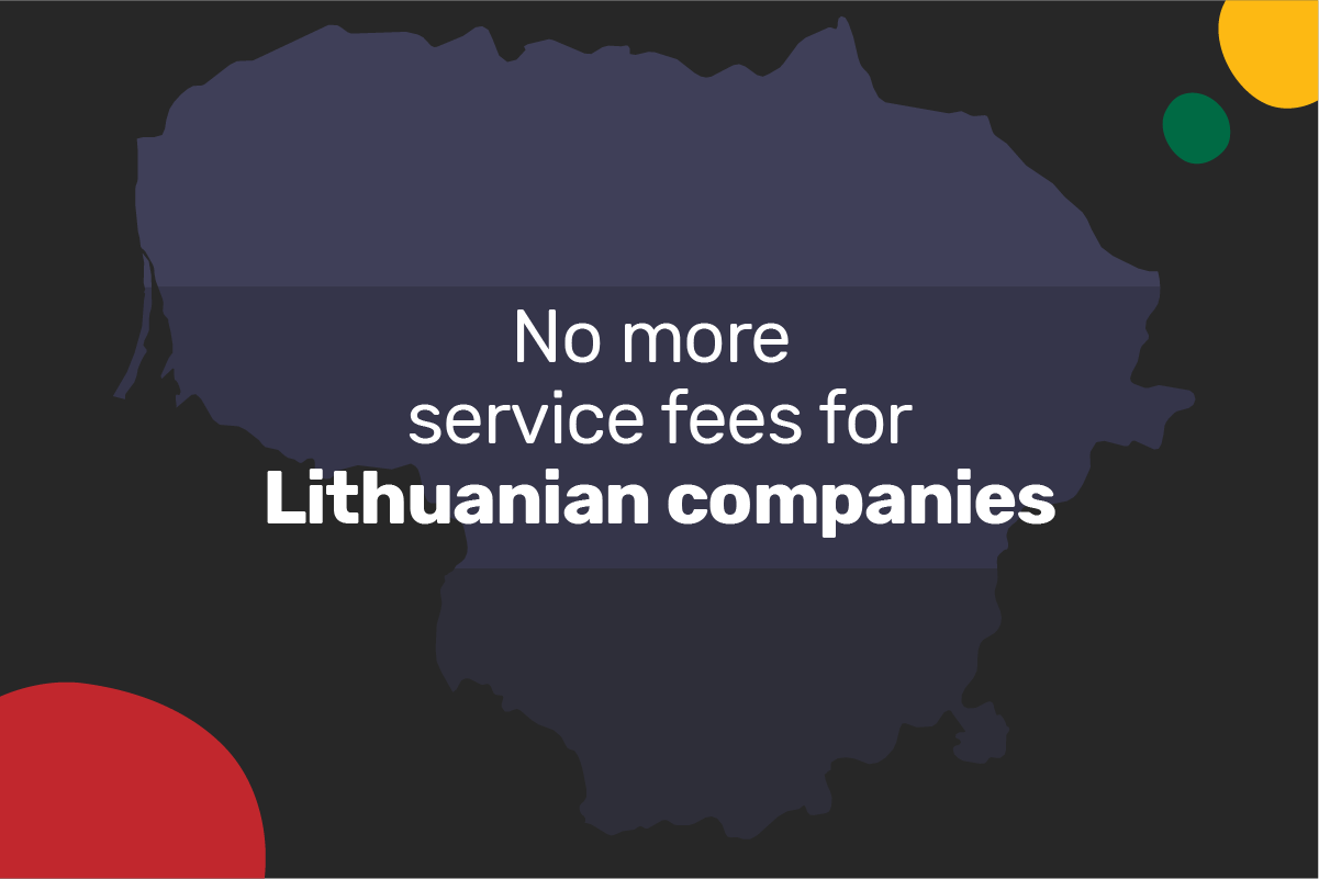 Genome is canceling service fees for Lithuanian companies