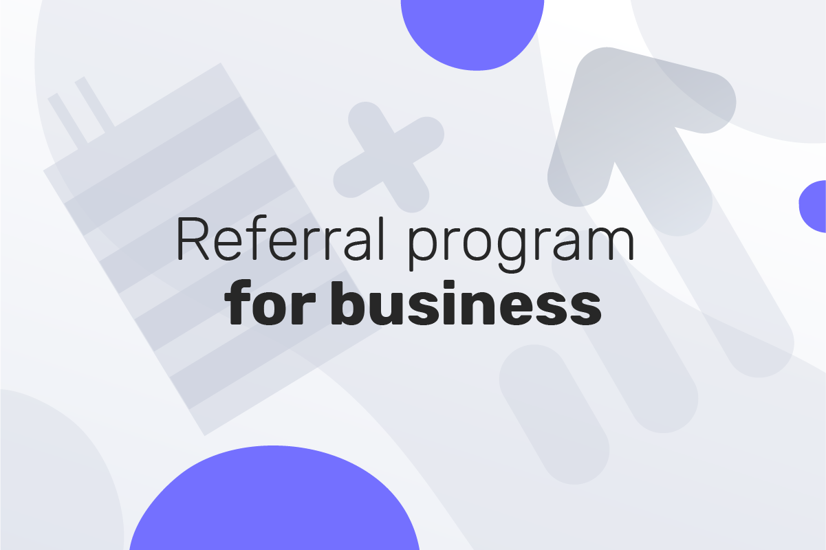 Genome offers bonuses for business clients that use the referral program