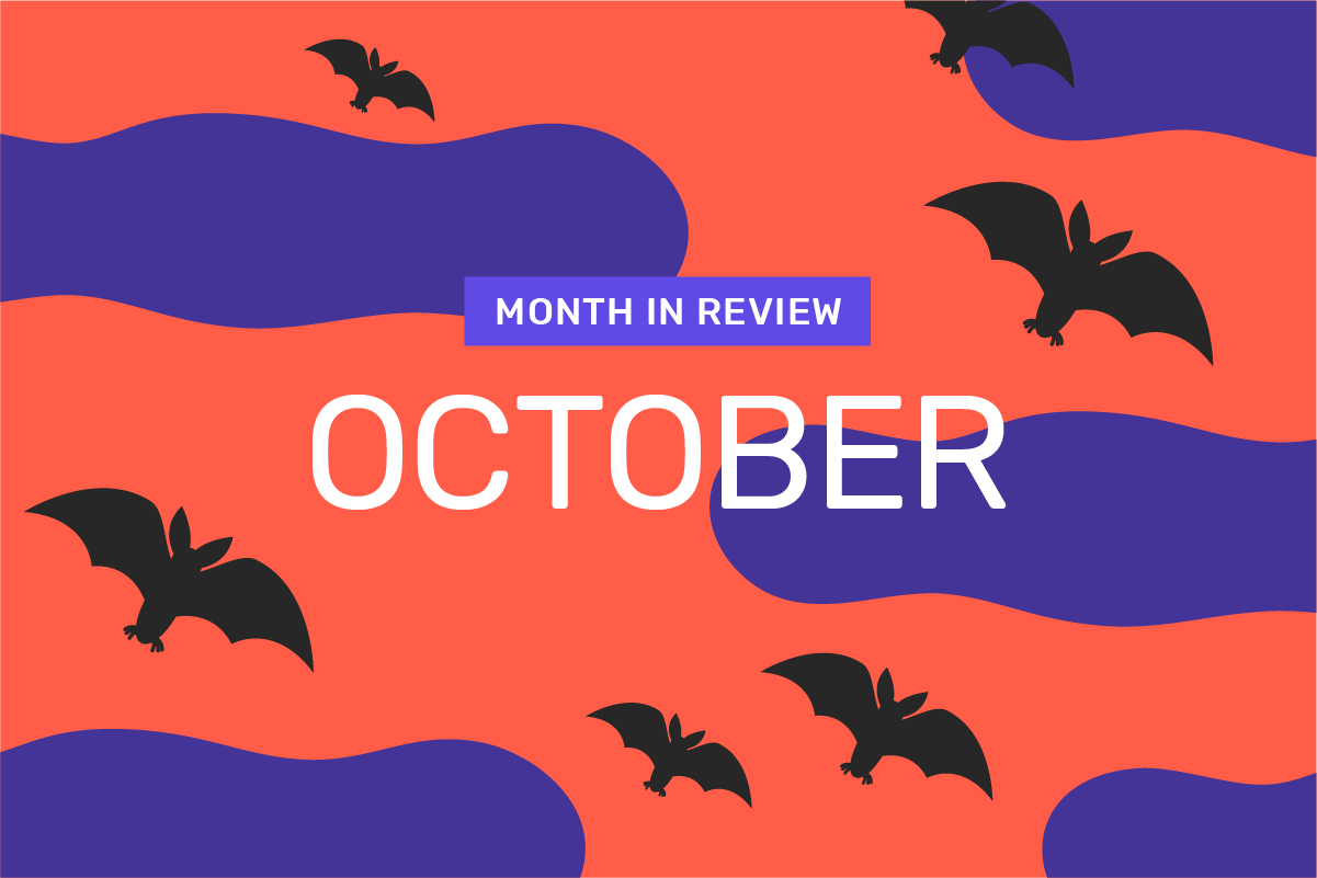 Genome's month in review: October
