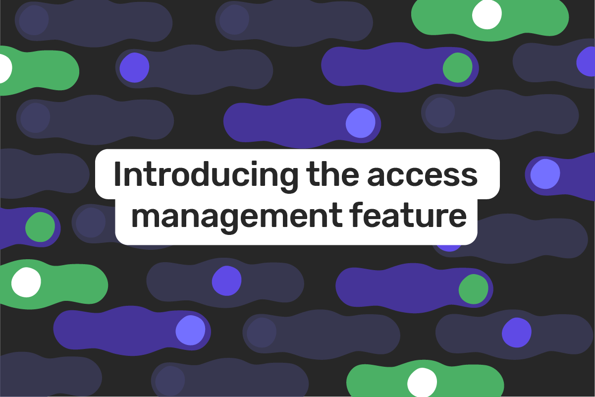 Genome introduces My Team feature for access management