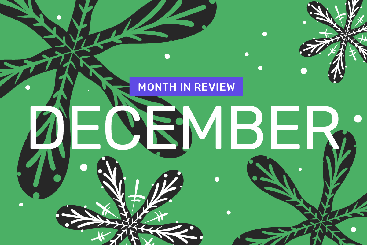 Genome's month in review: December
