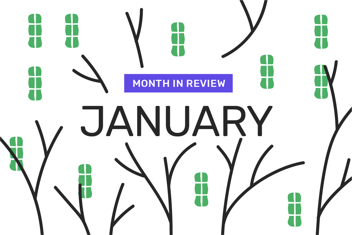 Genome's month in review: January