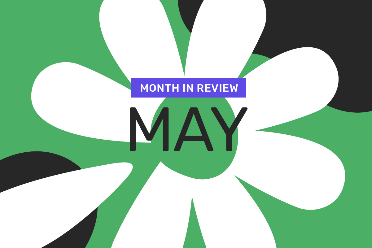 Genome's month in review: May