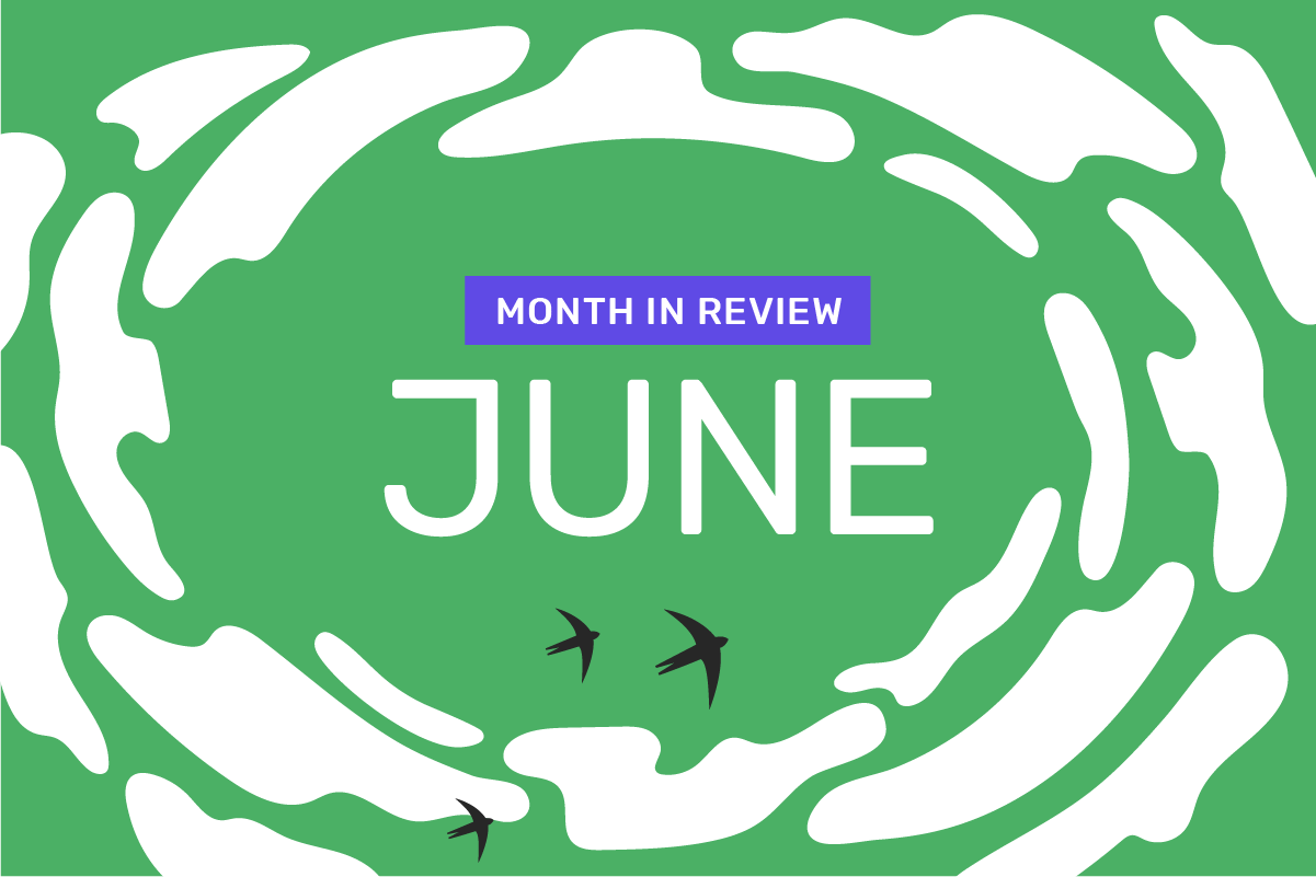 Genome's month in review: June 2021