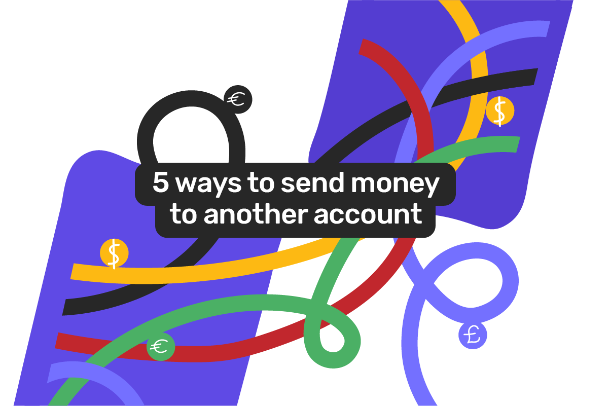 How to transfer money to someone else's bank account?