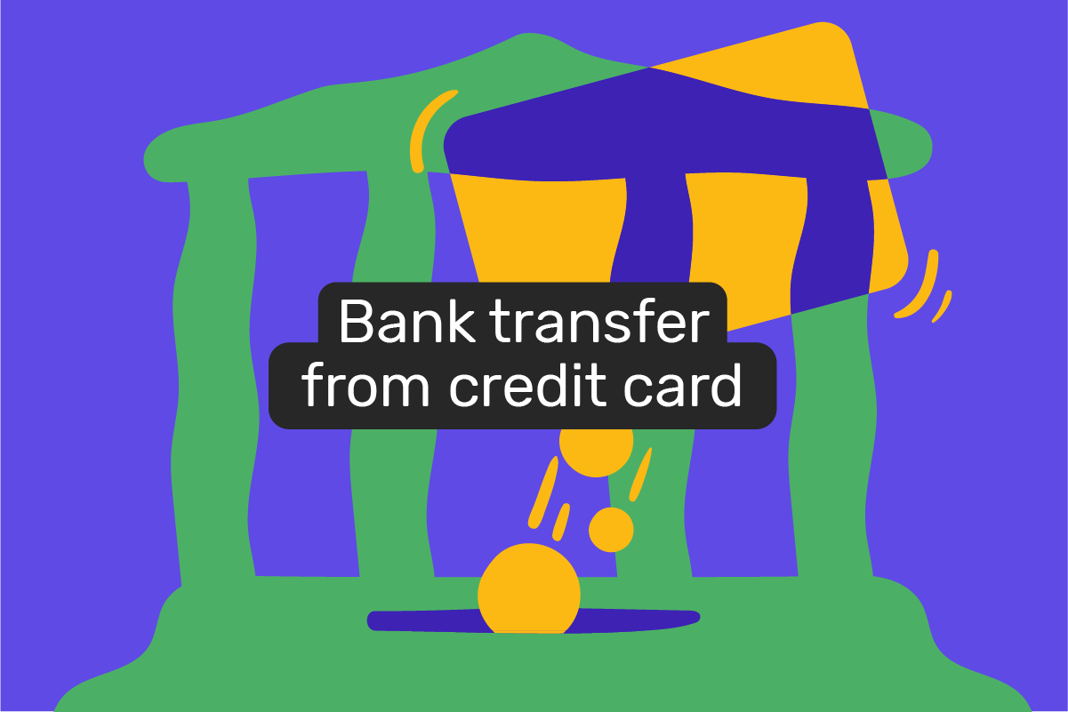 How to transfer money from a credit card to a bank account?
