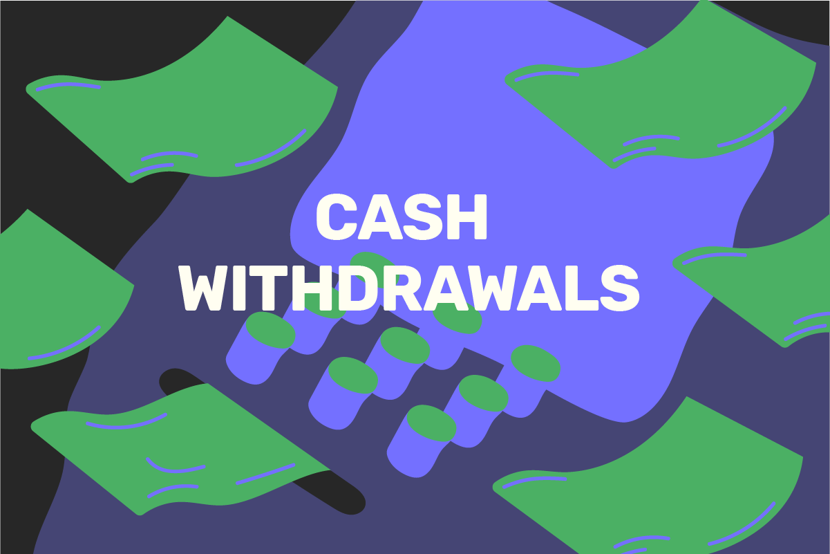 How to withdraw money from a bank or ATM
