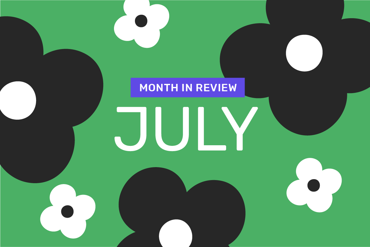 Genome's month in review: July 2021