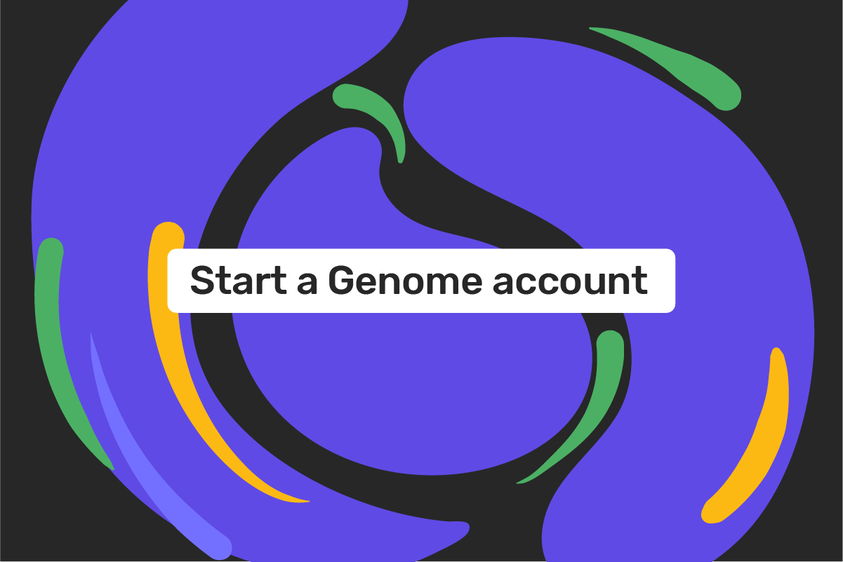 How to open a Genome account?
