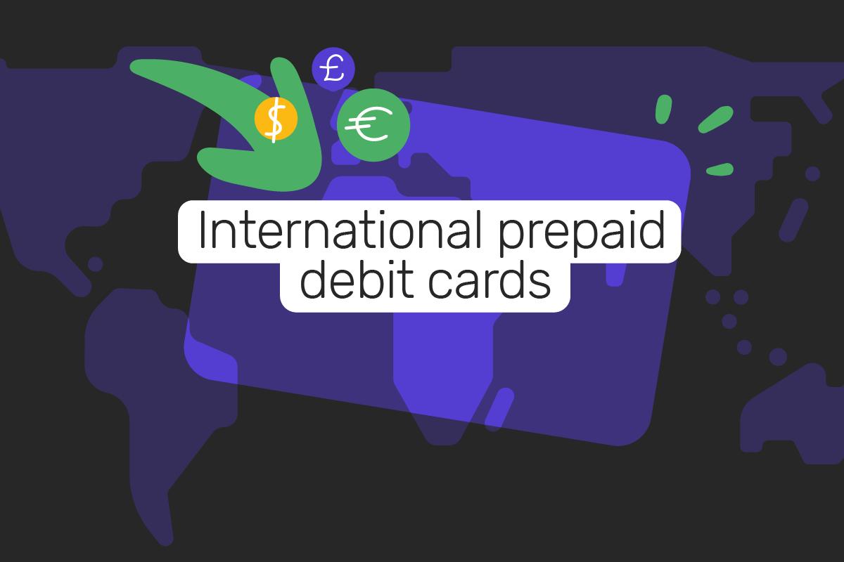 International prepaid debit cards
